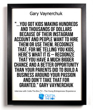 Gary Vaynerchuk on Following Your Dreams