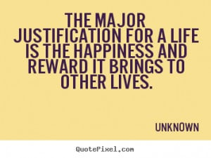 Justification Quotes...