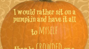Fall Pumpkin Quotes