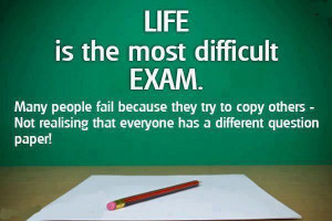 Life is the most difficult exam: Quote About Life Is The Most ...