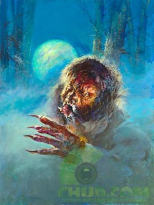 january 14 2010 basil gogos horror movie poster wolf man