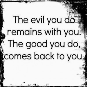 Quotes About Bad Karma
