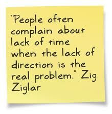Lack of direction is the real problem...