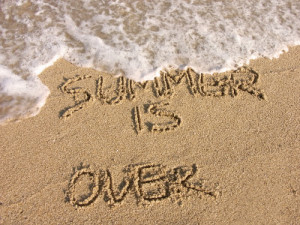 Summer 2011 is ALMOST over...