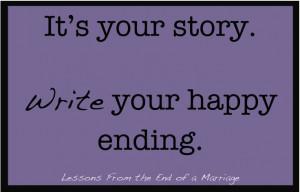 Write Yourself Through Divorce