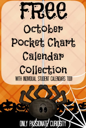 Free Printable Calendar Pocket Chart Cards