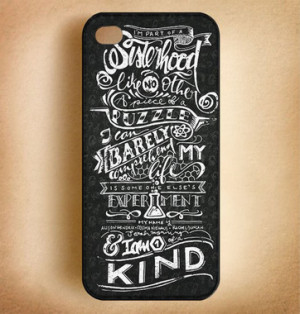 Orphan Black Sisterhood Quotes Phone Cases - iPhone 4 4S iPhone 5 5S ...