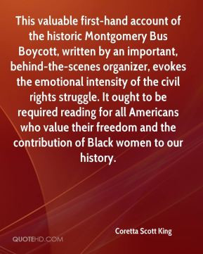 Coretta Scott King - This valuable first-hand account of the historic ...