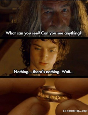 Lord Of The Rings – Made In China