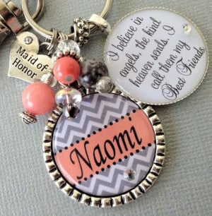 ... Honor Bridesmaid, Brides Gift From Maid Of Honor, Gift Chevron