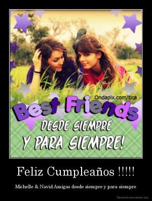 Feliz cumpleanos mejor amiga para facebook