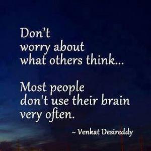 Just ignore...