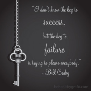 Quote by Bill Cosby - Success and Failure