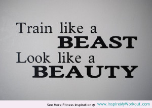 motivating quote for your training workout!