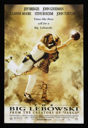 Details about THE BIG LEBOWSKI * 1SH ORIGINAL MOVIE POSTER 1998 ...