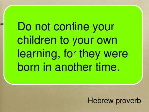 Hebrew Proverb