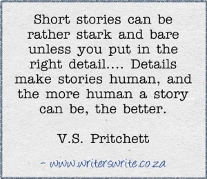 Pritchett Quote from Writers Write