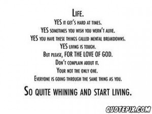 Quotes About Life Being Hard Sometimes Download this quote