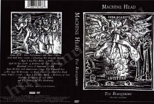Machine Head The Blackening Special Edition Bonus DVD DVD 9