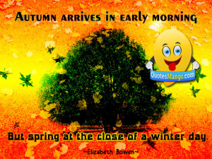 autumn quotes and sayings image