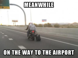 Funny Airport Travel Picture