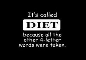 if you re trying to lose weight we don t like the word diet around ...