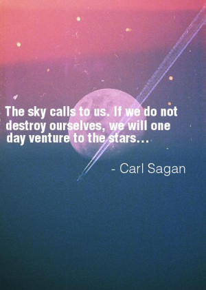 carl sagan quotes on stars sky day night