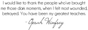 Oprah Winfrey show has been very popular among the masses, especially ...