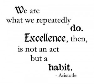 Aristotle excellence --- I want to work in an environment where a ...