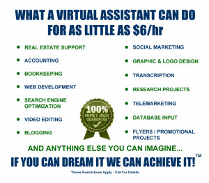 You are here: Home » What Virtual Assistants Do