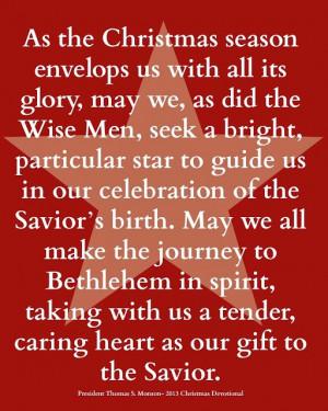 ideas christmas cards christmas 2013 lds christmas quotes christmas ...