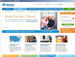 Allstate home insurance plans and details