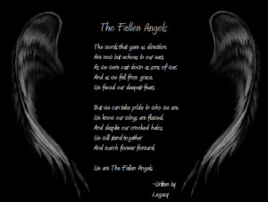 The Fallen Angels Poem by Legacy93