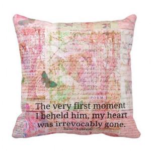 jane_austen_love_romance_quote_text_art_decor_pillow ...