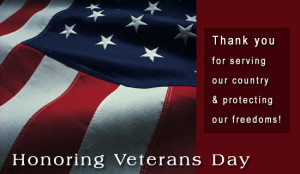 VeteransDayHonorThanks