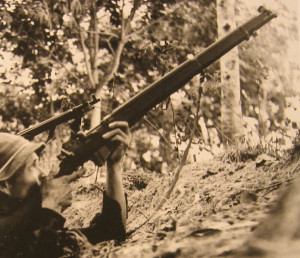 Thread: Viet Cong soldier with No 1 Mk V Trials Rifle