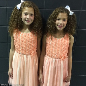 MICHAEL STRAHAN TALKS ABOUT DAUGHTERS' TALENT SHOW EXPERIENCE
