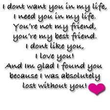 My Love, My Best Friend