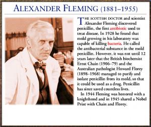 圖片標題: Alexander Fleming Quotes Thursday, 2 may …