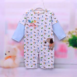 Sayings romper Monkey Baby clothing Baby Boy Romper spring 2014 new