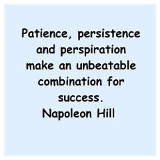 """... Make An Unbeatable Combination For Success """" - Napoleon Hill"""