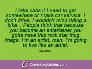 Asap Rocky Quotations