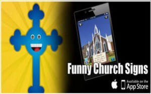 ... Screenshot von Funny Church Signs - Sayings and Quotes für iPhone