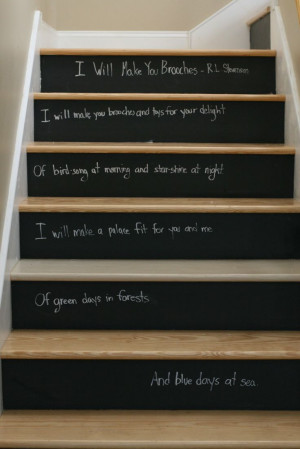 Can we do this @Travis Yorgey?? We already have the chalkboard paint ...