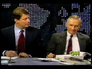 NAFTA: Ross Perot and Al Gore Debate 1993- Part 8 of 8