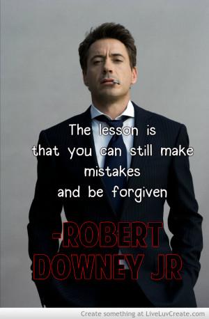 Robert Downey Jr Quote 1
