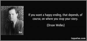 More Orson Welles Quotes