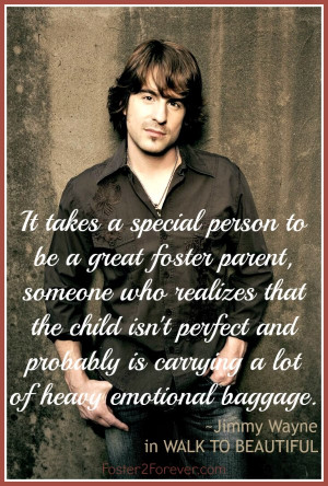 It takes a special person to be a foster parent. #quote