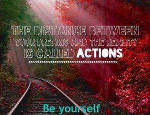 Actions quote via www.Facebook.com/BeYourself09