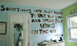 bedroom, photography, quote, text